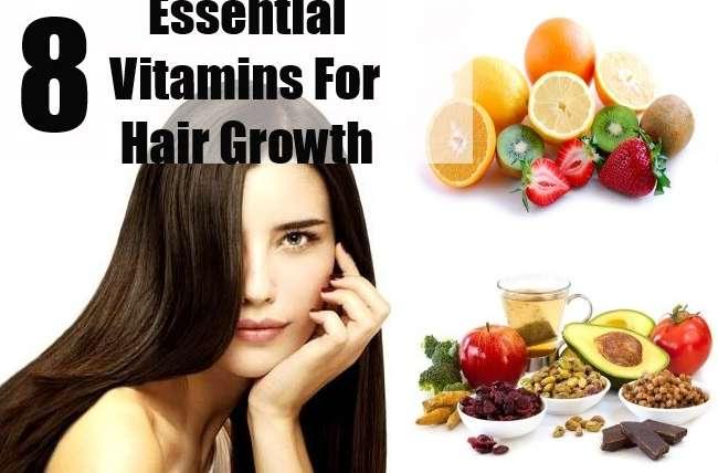 8 Essential Vitamins For Hair